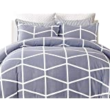 Gioia Casa Quilt Cover Set Mandy Reversible Queen Size 250 Thread Count 100% Cotton