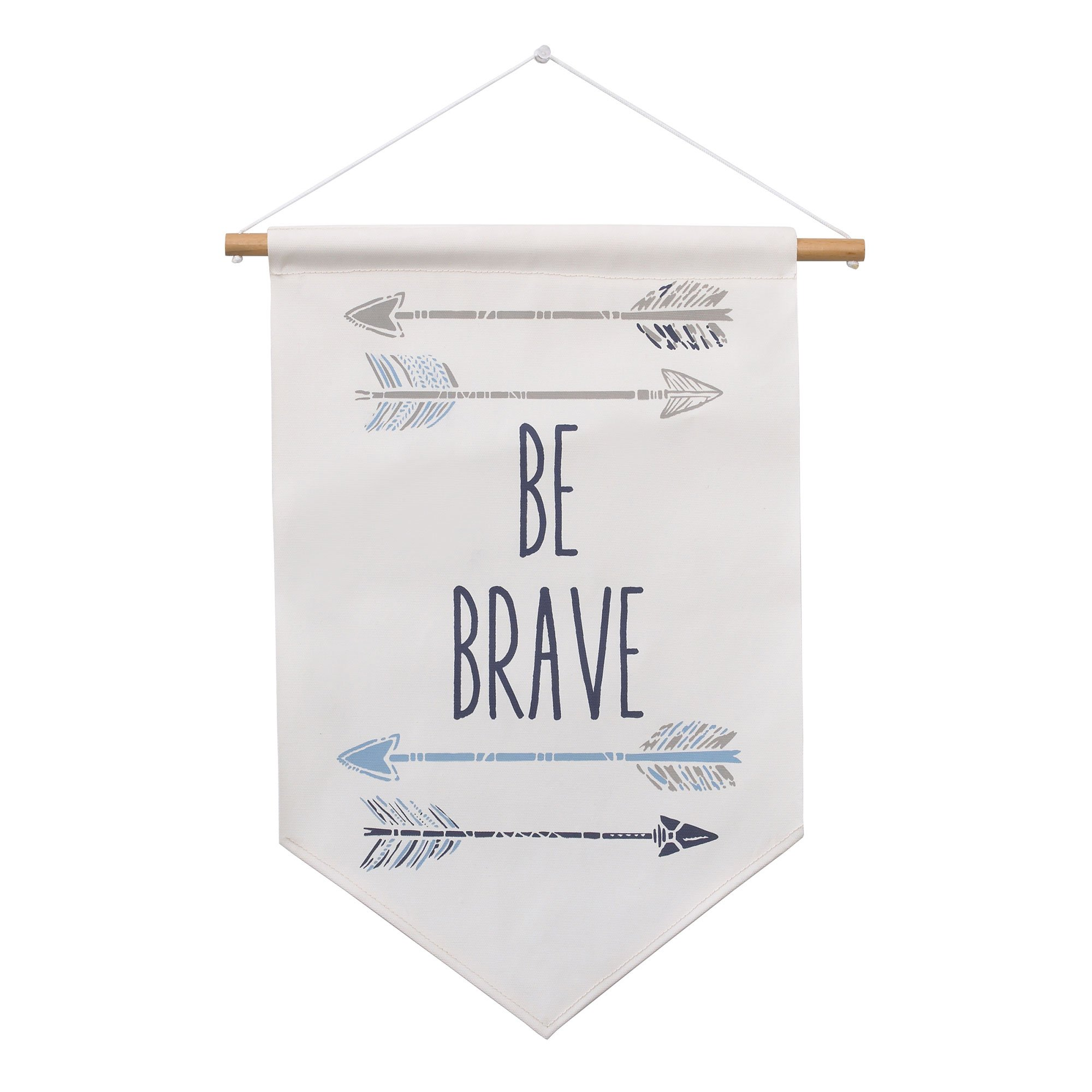 Be Brave Canvas Nursery Wall Banner by Carters