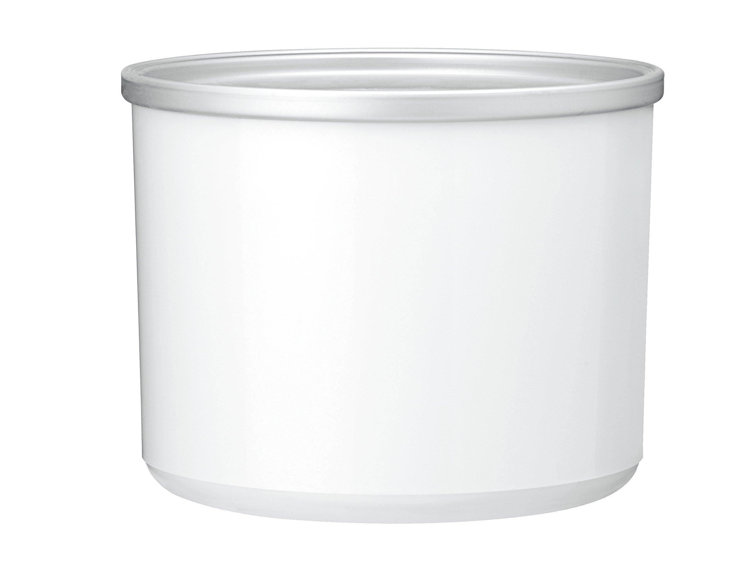 Cuisinart ICE-70RFB Replacement Freezer Bowl, 2 quart, Gray