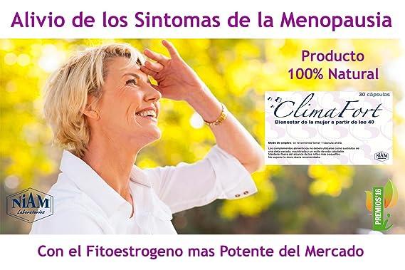 Laboratorios Niam - ClimaFort Menopausia, 30 Cápsulas: Amazon.es: Salud y cuidado personal