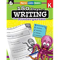 180 Days of Writing for Kindergarten: Practice, Assess, Diagnose