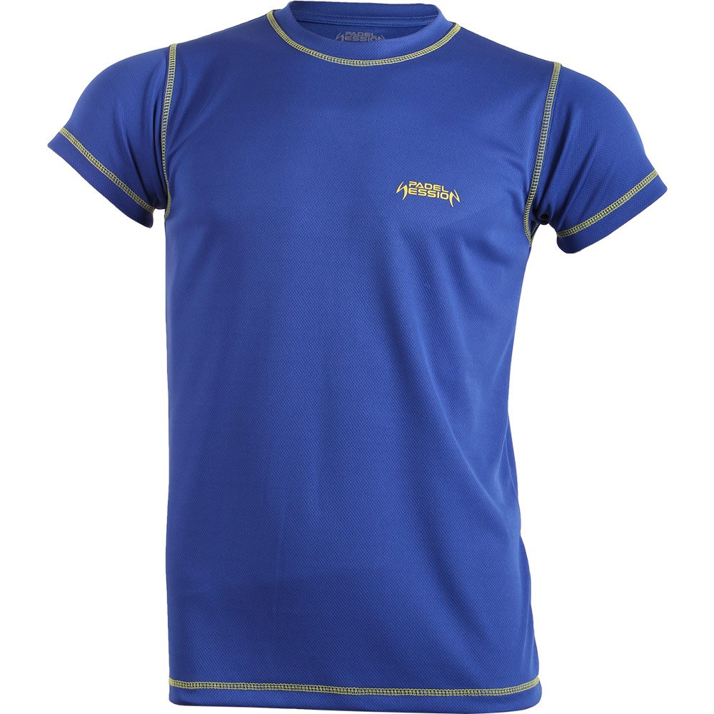 Padel Session Camiseta Tecnica Royal Amarillo: Amazon.es: Deportes y aire libre