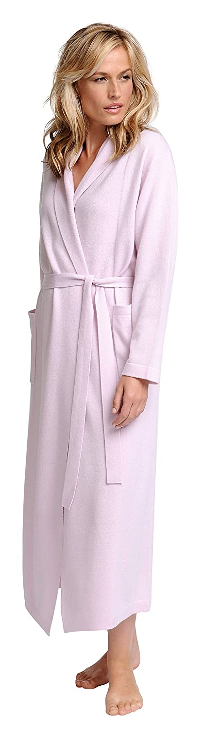 386623e44e Elizabeth Cotton Women s Cashmere Robe M Magnolia at Amazon Women s  Clothing store