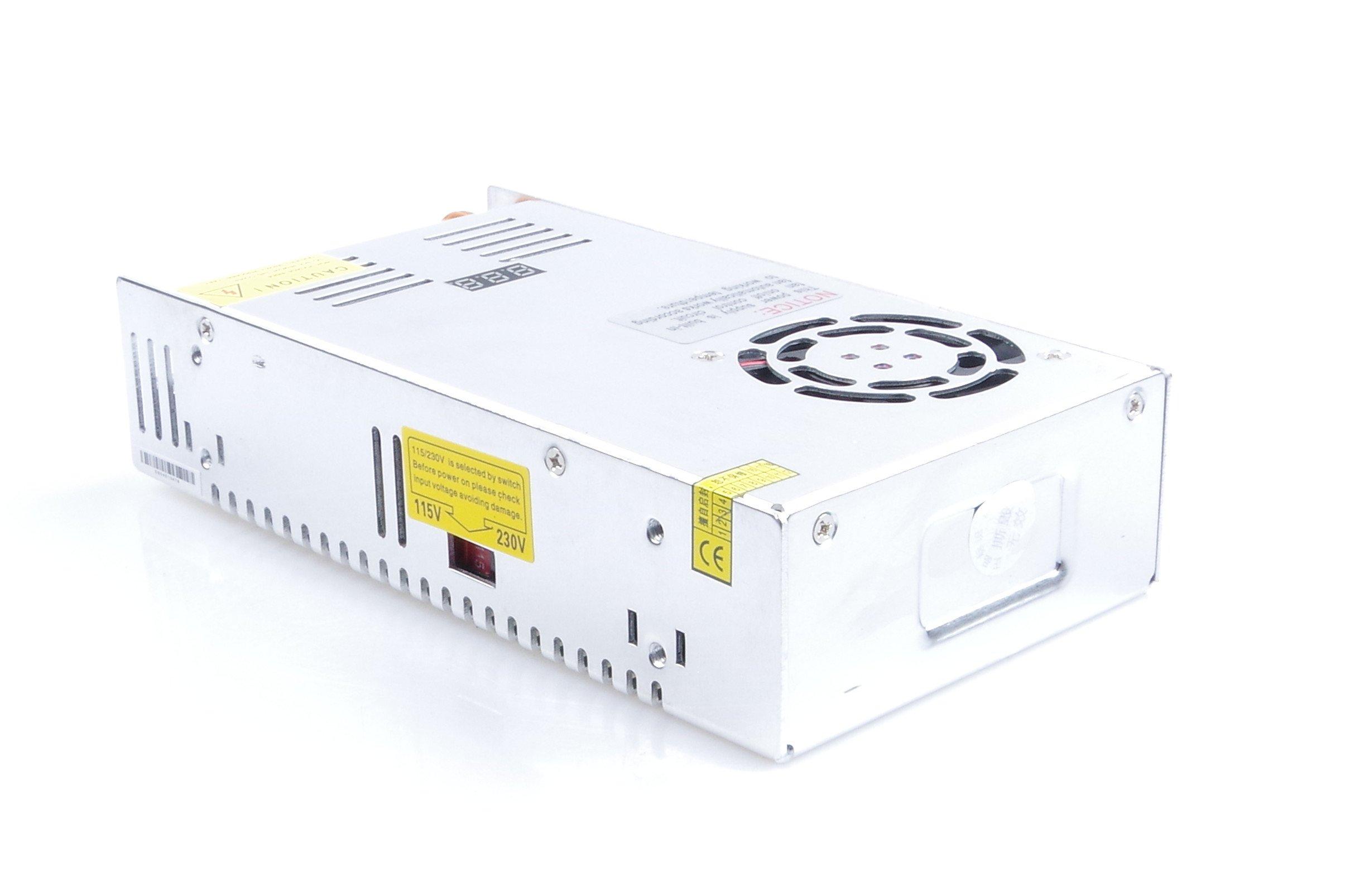Adjustable DC Power Voltage Converter AC 110V-220V to DC 0-80V Module 80V 6A Switching Power Supply Digital Display 480W Voltage Regulator Transformer Built in Cooling Fan (DC 0-80V 6A) by TOFKE (Image #8)
