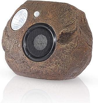 HAVEONE Altavoces Bluetooth con energía Solar con Sensor de Forma de Roca para el hogar, portátil, inalámbrico, Impermeable, Altavoces Bluetooth para jardín, Fiesta, Patio Trasero: Amazon.es: Electrónica