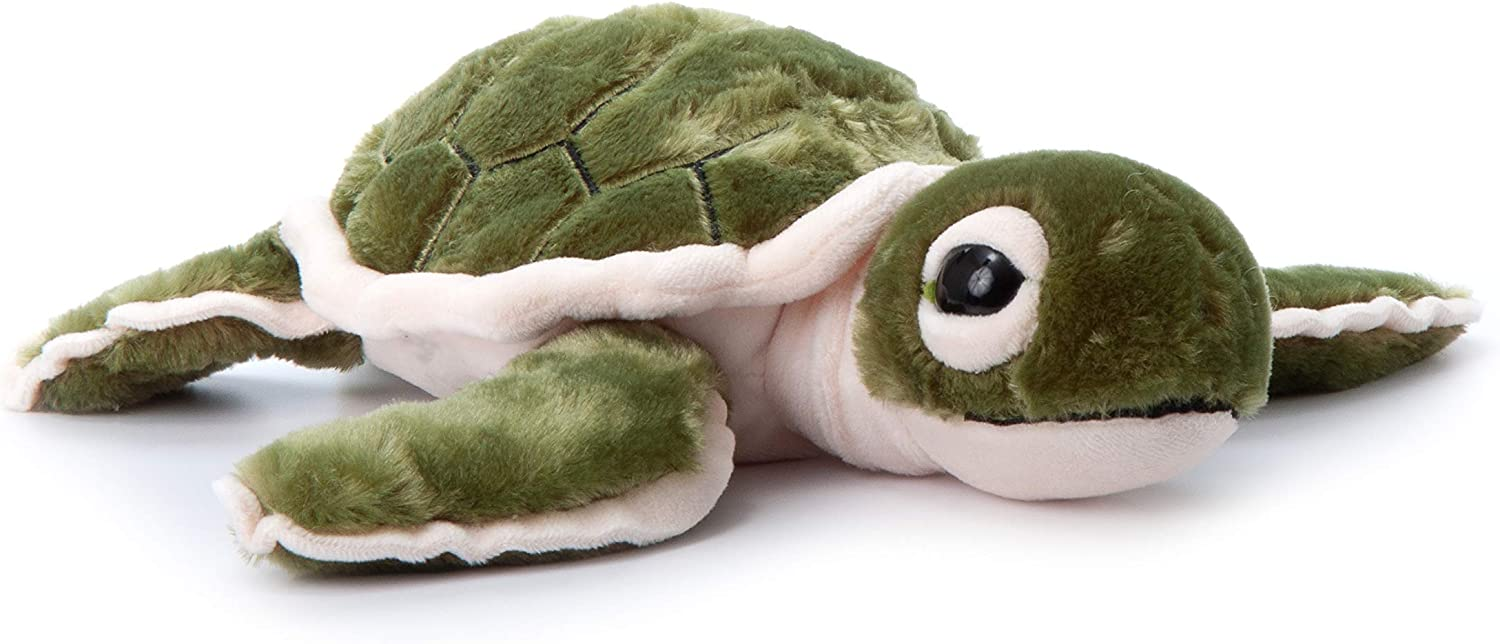 The Petting Zoo, Hatchling Sea Turtle Stuffed Animal, Gifts for Kids, Sea Turtle Plush Toy 12 inches