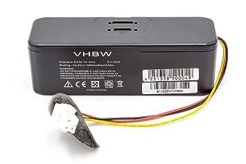 vhbw Batería Li-Ion 3000mAh (14.4V) para aspirador Samsung Navibot SR8730, SR8750 Light, SR8824, SR8825, SR8828, SR8830, SR8840. como VCA-RBT20.
