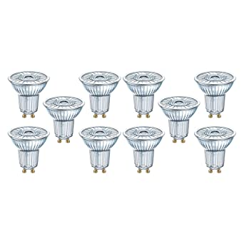 OSRAM LED SUPERSTAR PAR16 / Spot LED, Culot GU10, Dimmable, 3,10W