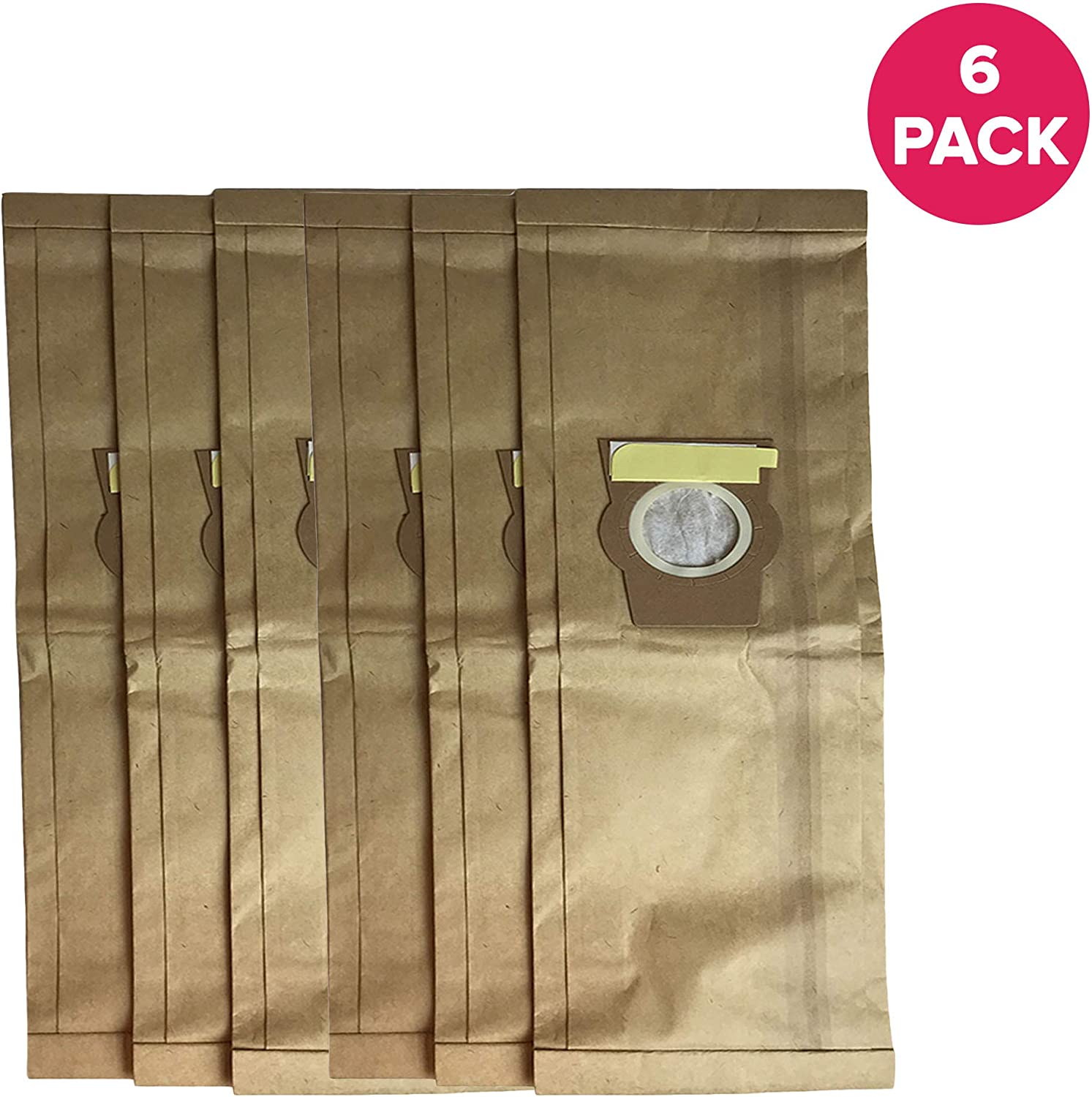 Crucial Vacuum Replacement for Kirby F Paper Bags, Fit Ultimate G and Sentria, Compatible with Part 204808 (6 Pack)