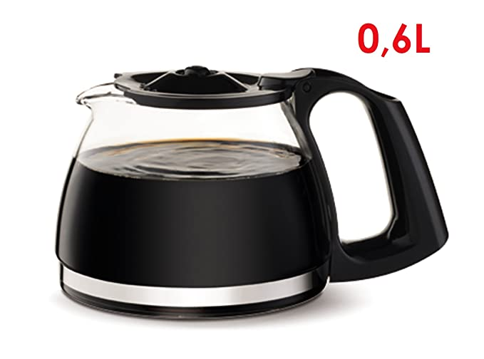 Moulinex FG150813 Cafetera de filtro, 6 tazas, función Auto-off 650 W, Inox y negro: Amazon.es: Hogar