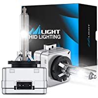 $39 » Nilight D1S HID Xenon Headlight Bulbs, D1S Bulb 6000K High Low Beam Xenon…