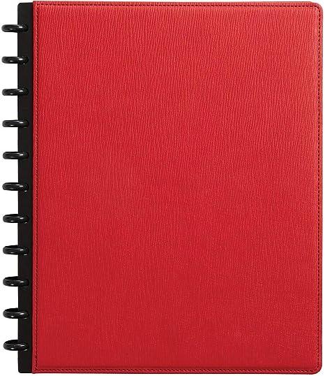 "Staples Arc Customizable Notebook 8-1//2/"" x 11/"" 60 Sh Narrow Ruled Blk 886232"