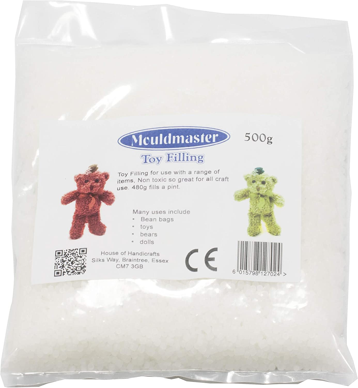 White 500g Mouldmaster Toy Filling