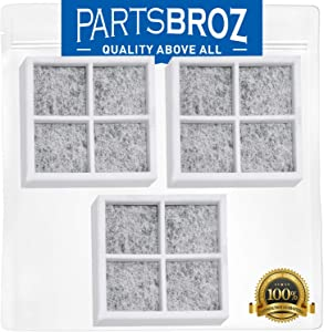 LT120F Air Filter (3-Pack) for LG Refrigerators by PartsBroz - Replaces Part Numbers ADQ73214404, AP5629741, ADQ73214402, 2308805, ADQ73214406 & PS3654115