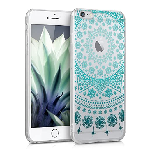 78 opinioni per kwmobile Cover per Apple iPhone 6 Plus / 6S Plus- Custodia in silicone TPU- Back