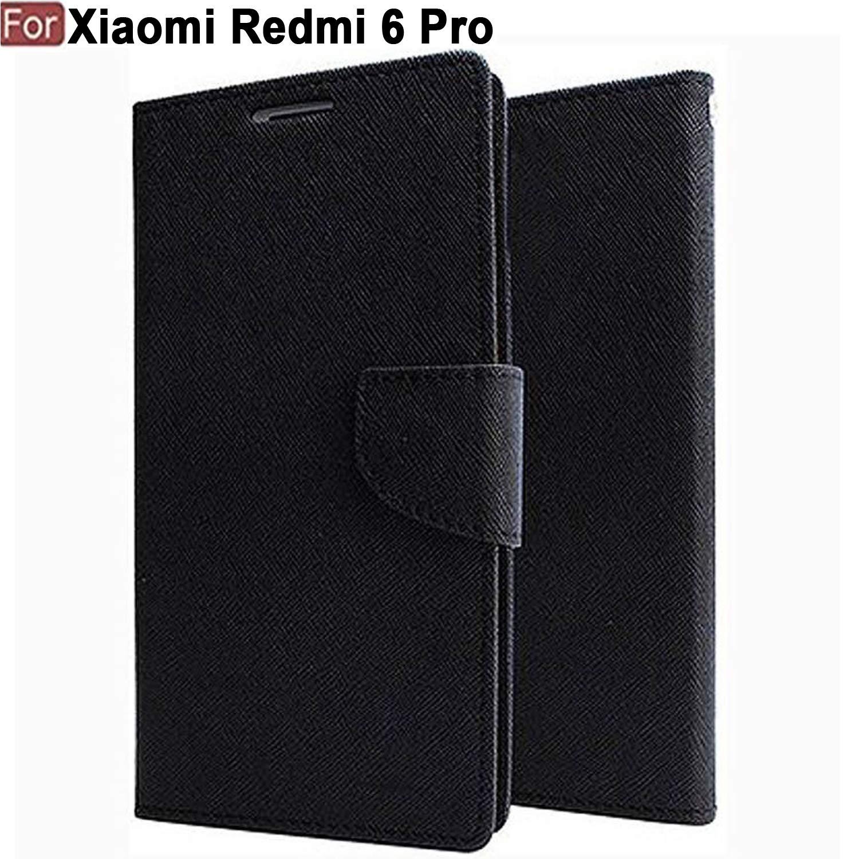 half off a3847 0e928 Cedo Mercury Flip Case Cover for Xiaomi Mi 6 Pro (Black)