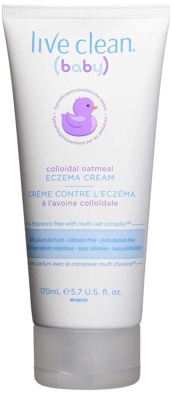 Live Clean Baby Colloidal Oatmeal Eczema Cream, 170ml Belvedere Intl 32561