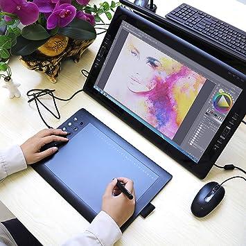 ZJH Tablero de Pintura, 1060PRO Tableta Digital Mesa de Dibujo Equipo Pintado a Mano se Puede conectar al teléfono móvil Tablero de Dibujo electrónico: Amazon.es: Deportes y aire libre