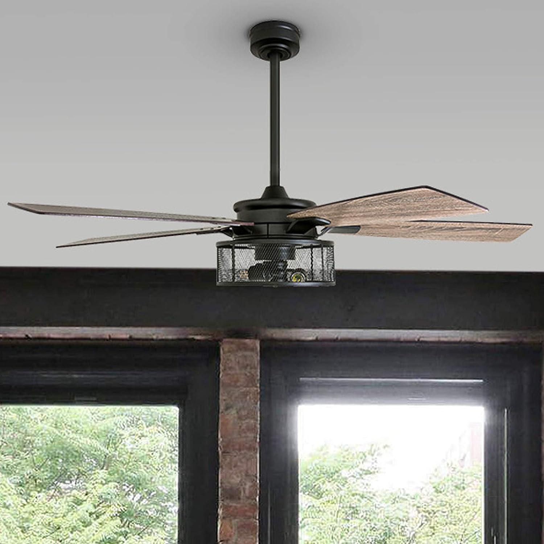 """Honeywell Carnegie 52"""" Indoor Smart Ceiling Fan"""