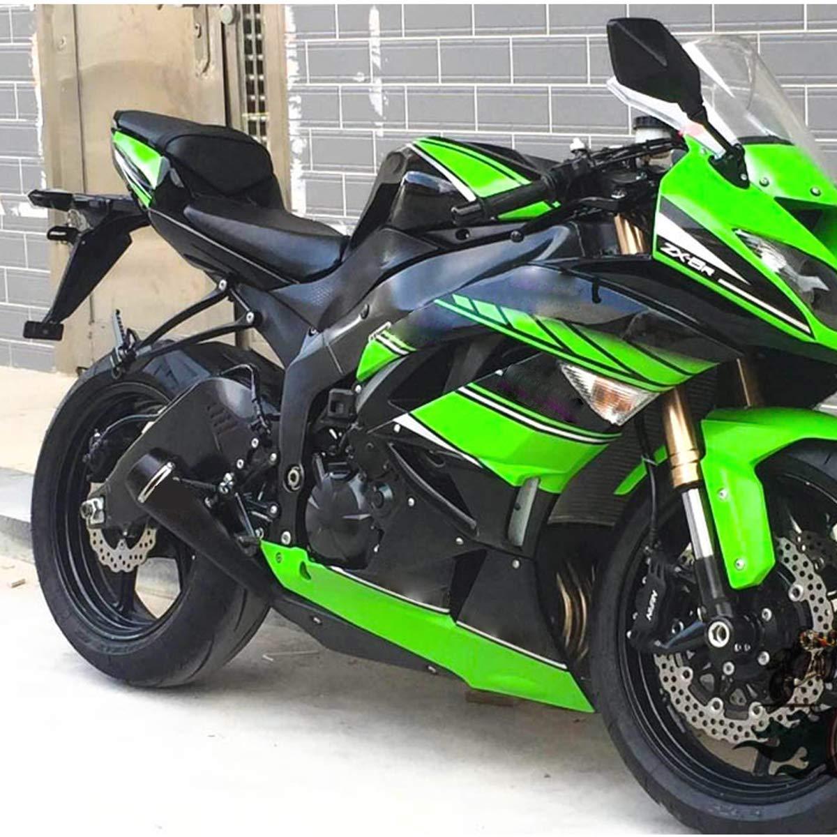 Amazon.com: ISTUNT Motorcycle Exhaust Modified for KAWASAKI ...