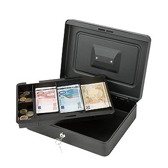 CO-Z Caja de Caudales Caja de Monedas Bandeja Extraíble para ...