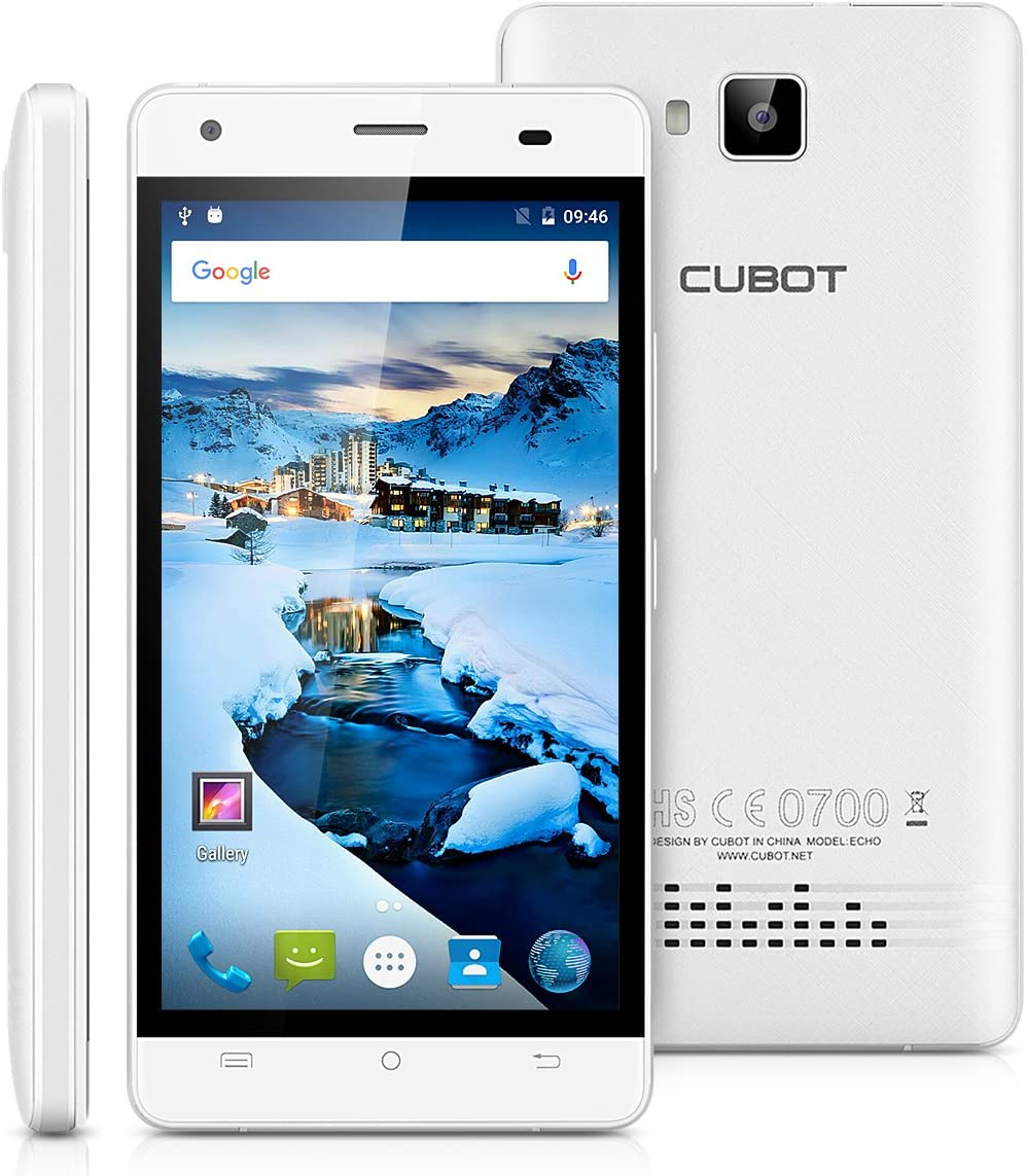Cubot Echo - 3G Smartphone Libre Android 6.0 (5.0