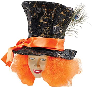 ffde35476aa MAD HATTER TOP HAT  Amazon.co.uk  Toys   Games