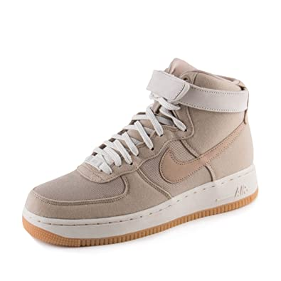 nike di donne wmns air force 1 hi to cachi / luce ossa