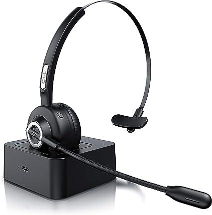 Csl Kabelloses Headset Mit Ladestation Mono Elektronik