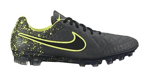 b08c69ea9b35d Nike Men's Tiempo Legend V AG-R (Anthracite/Black/Volt) (7.5 ...