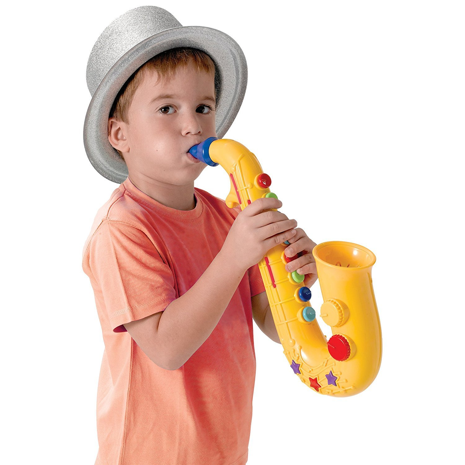 Amazon Winfun Triple Sounds Saxophone Musical Instruments