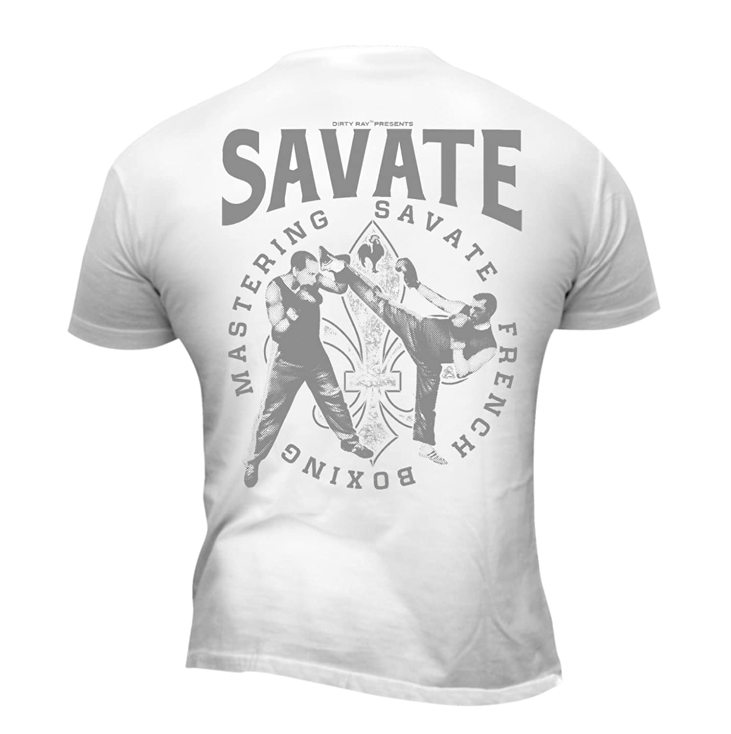 Dirty Ray Arts Martiaux Savate Boxing t-shirt homme DT34 DT21