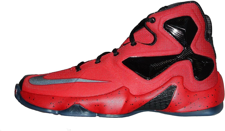 Zapatillas de baloncesto Nike Lebron XIII GS rojas / de fibra de carbono 808709 Sz 7y: Amazon.es: Zapatos y complementos
