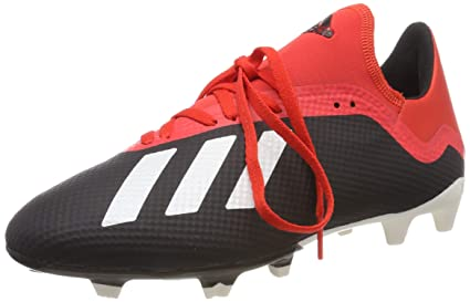 db32c45ea Image Unavailable. Image not available for. Color: adidas X 18.3 FG  Football Boots - Adult - UK Size 9