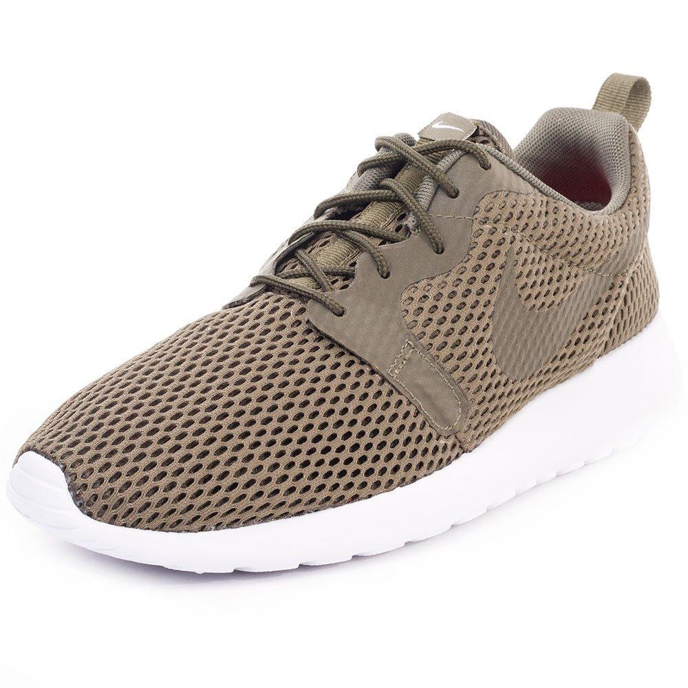 b27c9fec1b5b Nike Roshe One Mens Mesh Trainers Olive - 6 UK  Amazon.co.uk  Shoes ...