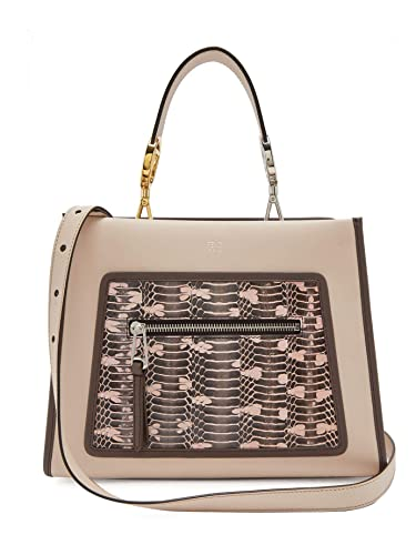 79cf072335d Fendi Runaway Small Vitello Century Leather Snake Skin 8BH344: Handbags:  Amazon.com