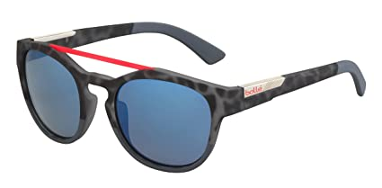 db6f6d0752 Image Unavailable. Image not available for. Color  Bolle Boxton Rubber  Black Tortoise Red Sunglasses