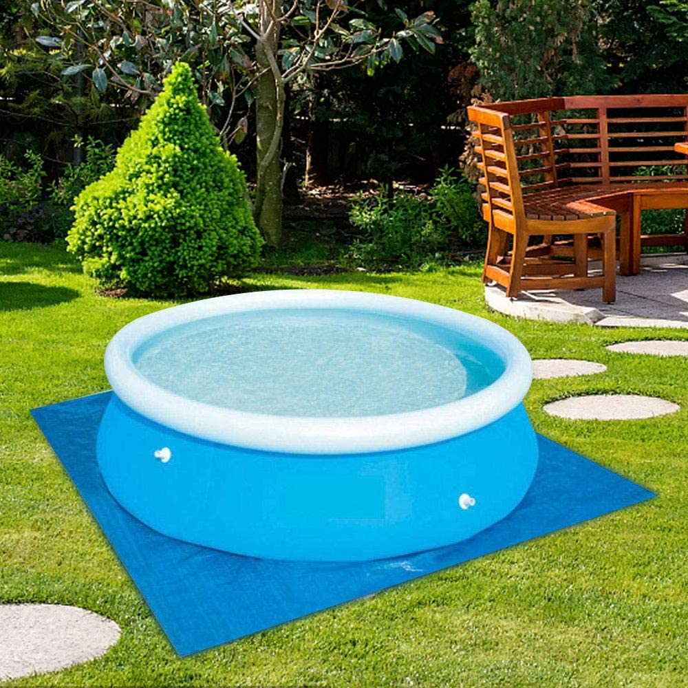 Winter Pool Cover for Round Above Ground Swimming Pools Anti-dust Easy Set Up Durable Rainproof