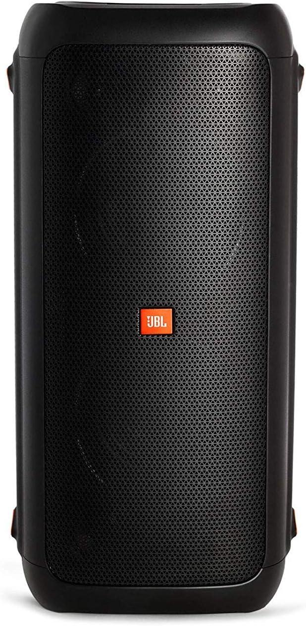 JBL PARTYBOX 300 Portable Bluetooth Loudpeaker Bundle with USB Bluetooth Adapter Black