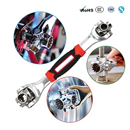 Lord Of The Wrench Tiger Wrench 48 Tools In One Socket Works with Spline Bolts