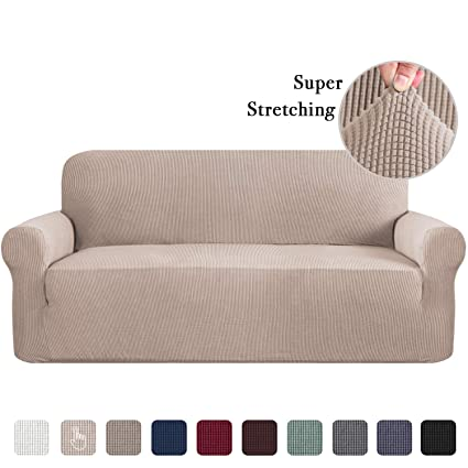 Sofa Slip Cover For Leather Couch Covers For 3 Cushion Couch Lounge Cover Kids Sofa Covers Stretch Sofa Cover Set Furniture Covers For Moving Couch