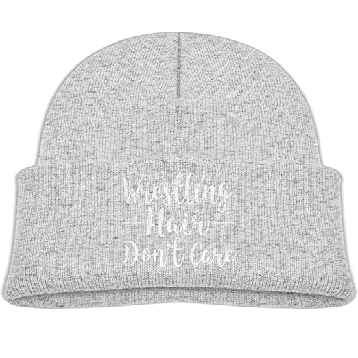 623dd9a379a Amazon.com  hanfjj kefdk Knitted Hat Beanie Cap Unisex Baby Warm Wrestling  Hair Don t Care Baby  Clothing
