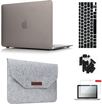 """12/"""" Laptop Bag Case Sleeve Cover For 12inch New Macbook 2015 w// hard shell case"""