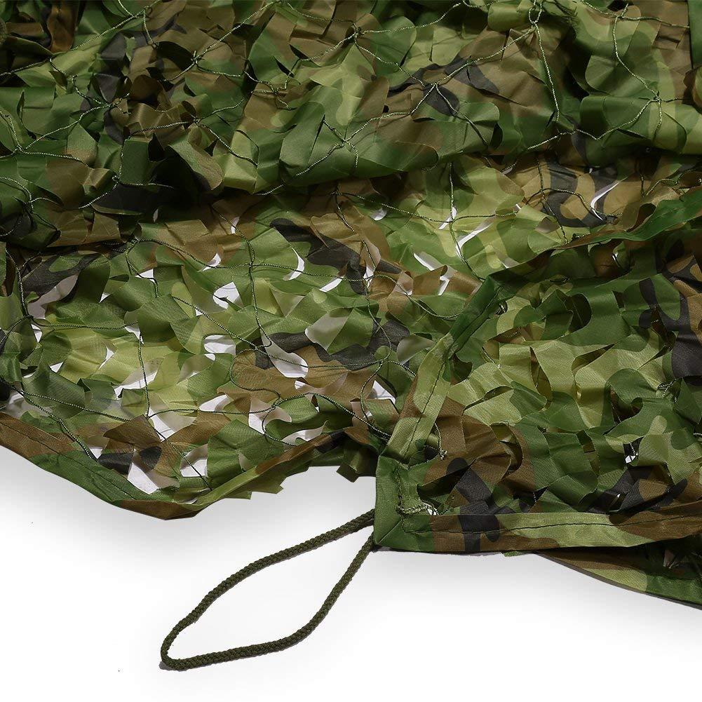 Camouflage Net Camouflage Rete Campeggio per Attività Attività Attività All'aperto Pesca Film Casa Sull'albero, Tutti I Coloreei, Varie Dimensioni, Prossoezione Solare Speciale Rete di Caccia da Caccia Campeggio Prossoezione B07NY4YY79 5m×6m Jungle camouflage   Chia 011448