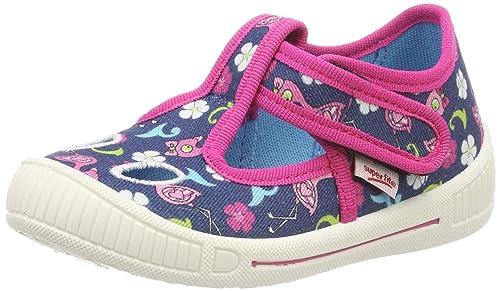 separation shoes e1aa0 f27a5 superfit Mädchen Bully Niedrige Hausschuhe