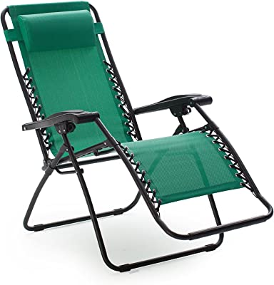Caravan Canopy Zero Gravity Chair Foldable - Green