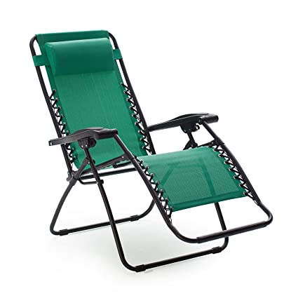 Charmant Caravan Canopy Zero Gravity Chair Foldable   Green