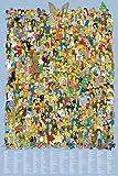 empireposter - Simpsons, The - Cast Names - Größe (cm), ca. 61x91,5 - Poster, NEU -