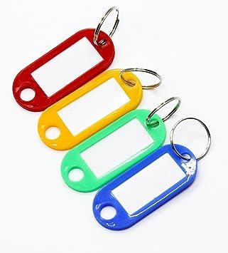 Fresghadgetz 100 Etiquetas de identificación de llaves ...