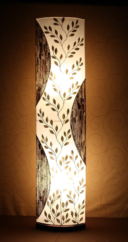Lámpara de pie asiatica Padma,(LA12-123), Decoración ...